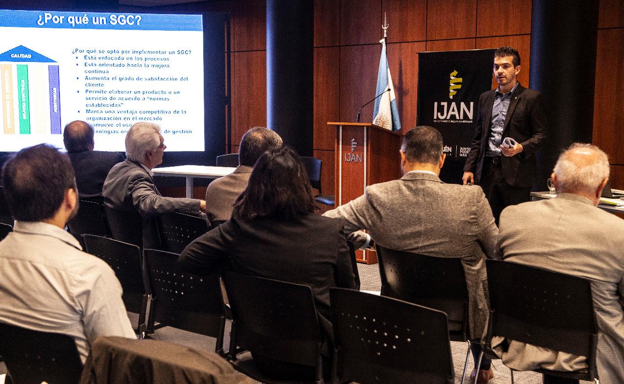 En el IJAN: Presentación del Referencial Nº 19 ALEA-IRAM para la Patagonia