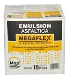 Emulsión Asfáltica Megaflex 18kg (caja)
