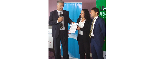 Felicitaciones al IAFAS por certificar bajo el Referencial Normativo N° 19 ALEA-IRAM