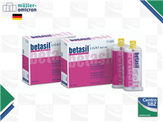 Muller Silicona Betasil Light cartucho por 50ml