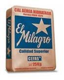 Pallet Cal Hidratada Milagro 25kg (60 Unid)