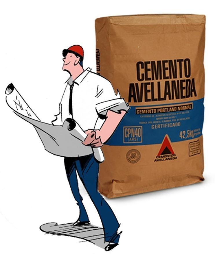 Pallet Cemento Normal Avellaneda 50kg (40 unidades por Pallet)