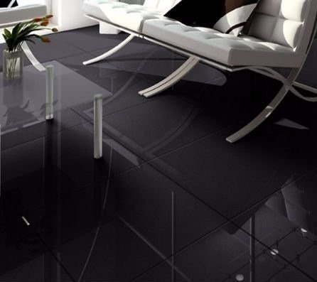 Porcellanato Super Negro pulido Copmaco Design 60x60cm (1,44m2 caja)