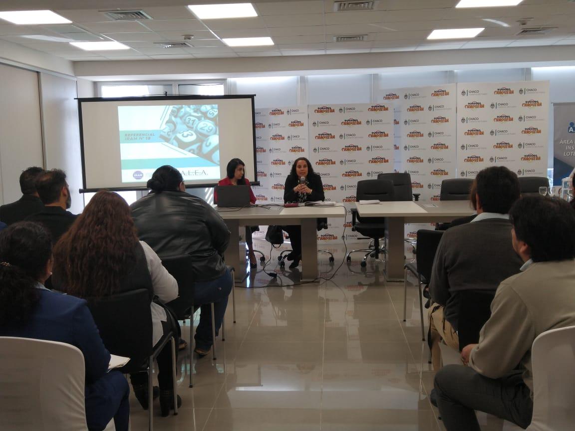 Se presentó el Referencial IRAM N° 19 ALEA- IRAM en Misiones y Chaco