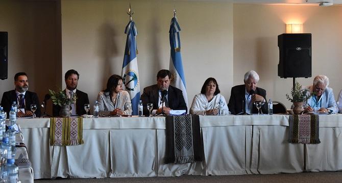 En San Martín de los Andes, inauguración de la 65° Asamblea Extraordinaria de ALEA