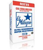 Pallet Cal Viva Milagro 25kg (60 Unid)