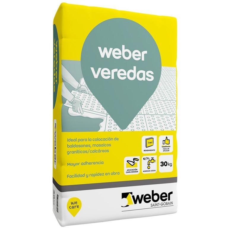 Pegamento para veredas Weber Col Veredas 30kg