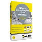 Pegamento para renovación de pisos Weber Col Piso sobre Piso 12hs 30kg