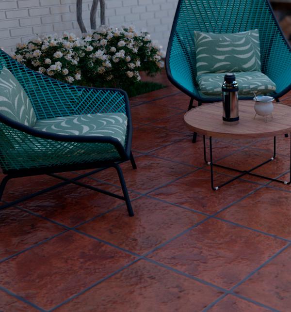 Ceramica Cotto Cortines Cortines 40x40cm satinado (1,76m2)