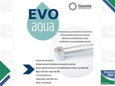 Turbina Gacela Evo Aqua con 4 Spray