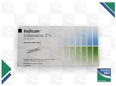 Anestesia Indican 2% Sin Epinefrina Por50