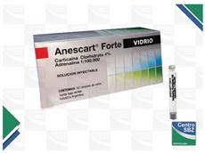 Anestesia Anescart Forte Vidrio Por 50
